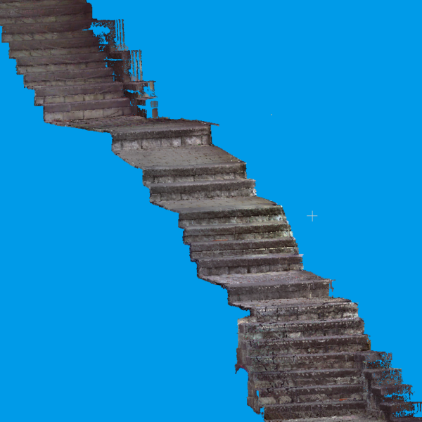 3D Laser Scan 1601203 Stairs