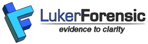 Luker Forensic evidence to clarity logo
